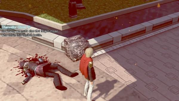 Darah, mayat, kematian, dan kehancuran - FF Type 0 HD tidak menahan diri.