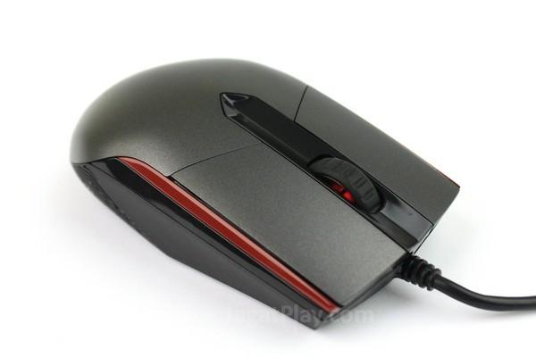 Sica hanya menyediakan tombol Mousewheel, tombol kanan, dan kiri mouse