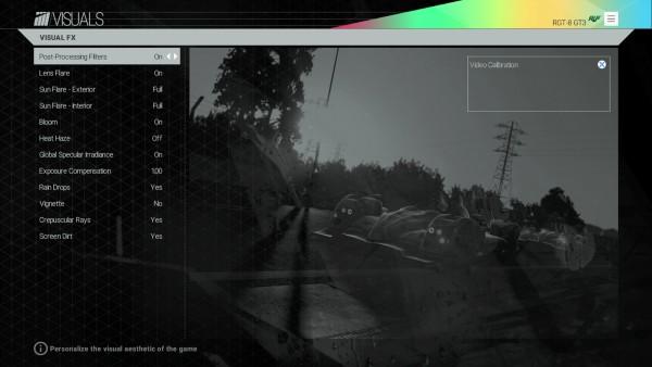 Seperti halnya versi PC, Project CARS versi konsol juga akan hadir dengan opsi grafis.