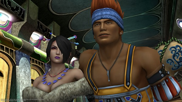 Ia masih Final Fantasy X / X-2 yang selama ini Anda kenal.