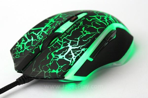 Rapoo VPRO V20, mouse gaming terang dengan harga murah!