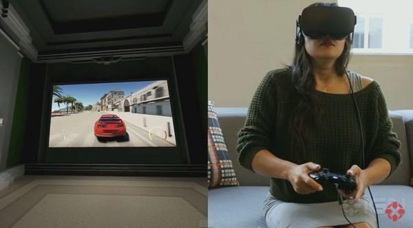 Anda mengharapkan Oculus Rift di Xbox One akan membawa Anda di balik setir ketika memainkan Forza? Nope, Anda dibawa ke sebuah ruang tamu virtual dengan televisi virtual. Sebuah konsep yang terasa seperti lelucon besar.