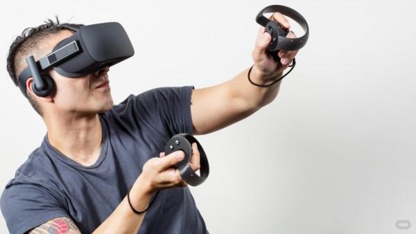 Tiap sisi Oculus Touch memuat satu analog, dua tombol, dan satu trigger.
