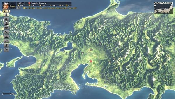 Peta Jepang dapat di-zoom hingga sangat jauh atau sangat dekat