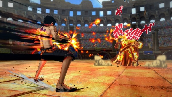 one piece burning blood1