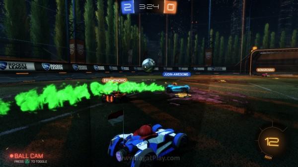 Bukan sekedar kecepatan, Rocket League lebih kompleks daripada itu. Untuk sekedar membuat mobil Anda menyentuh bola saja sudah jadi tantangan tersendiri.