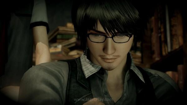 Ren Hojo yang hendak menyelidiki latar belakang historis Hikami.