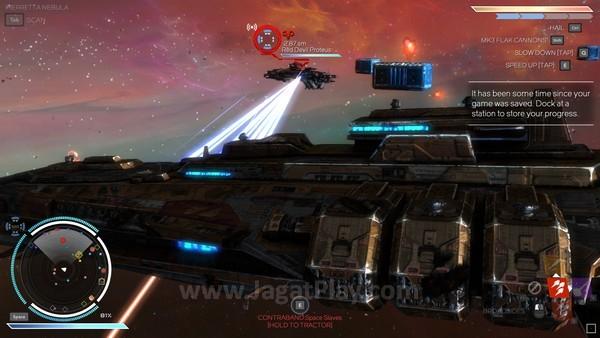 Semakin tinggi tingkat kesulitan misi, kapal musuh akan semakin berbahaya
