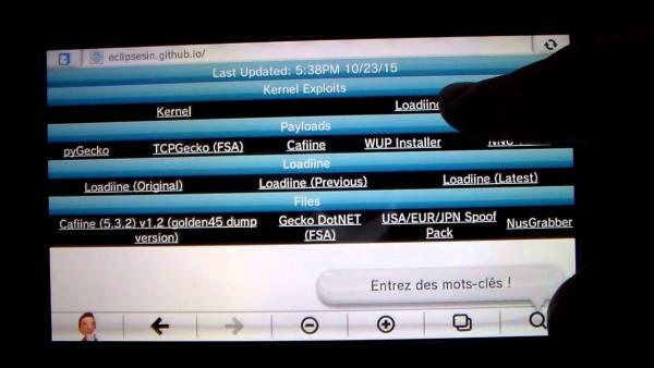 Tak butuh perangkat keras tambahan atau firmware kustom, program berbasis bernama Loadiine memungkinkan gamer Wii U mencicipi game image via SD card.