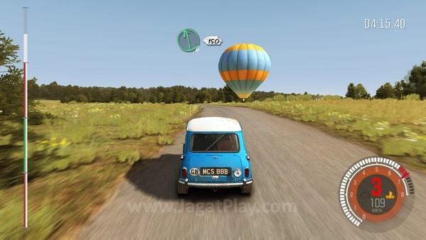 Terkadang tetap menggunakan mobil lambat dapat membantu Anda menguasai permainan