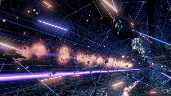 """Berbeda dengan game sci-fi yang biasanya menjadikan manusia sebagai """"target"""", di sini bumi hanyalah sebuah collateral damage dari perang dua ras makhluk asing yang begitu katastropik."""