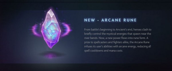 Rune baru untuk mempercepat cooldown dan memperkecil mana cost spells.