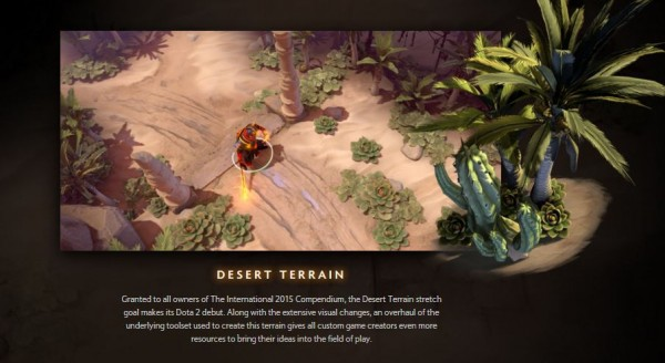 Desert terrain akhirnya akan tiba!