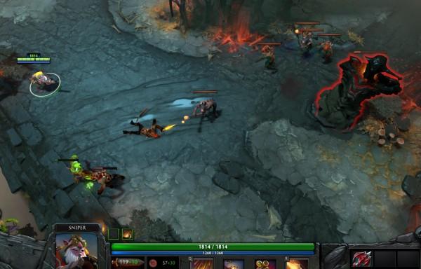 Sniper + Dragon Lance? Anda bisa melihat range attacknya sekarang.