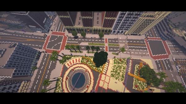 Gamer berusaha bangun ulang keseluruhan Los Santos dari GTA V di dalam Minecraft.