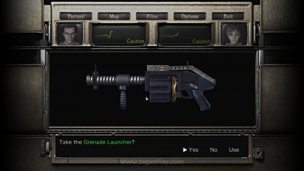 Yeay, Grenade Launcher! 2 slot? ARGGGHHHHH...!!!