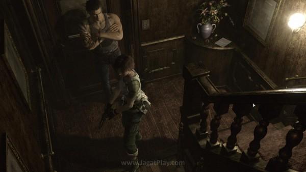 Sistem dua karakter yang saling bahu-membahu adalah identitas unik RE 0 HD Remaster.