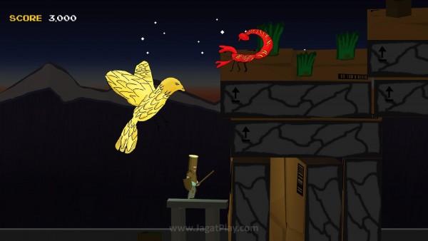 """""""Dragon"""" adalah sebuah perumpamaan untuk kanker tersebut."""
