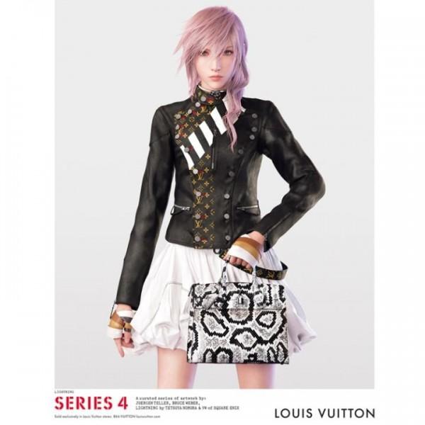 Tak cukup sekedar screenshot, Louis Vuitton bahkan merilis rekayasa wawancara dengan Lightning sebagai bahan promosi mereka yang baru.
