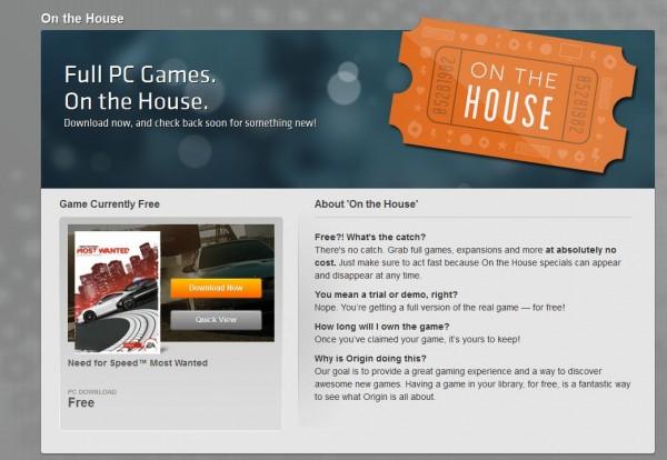 Anda kini bisa mengunduh Need for Speed: Most Wanted yang dirilis tahun 2012 silam secara cuma-cuma di Origin!