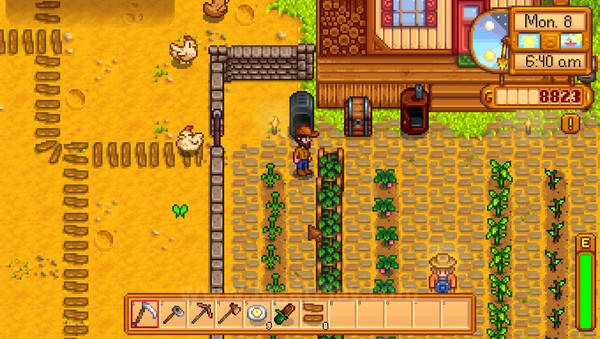Farming hanyalah sebagian kecil dari yang bisa dilakukan di game ini