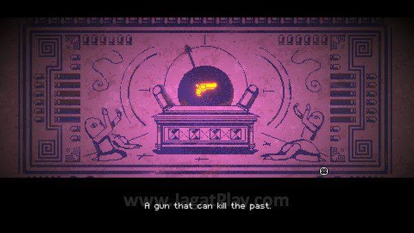 Tujuan Anda? Senjata yang bisa membunuh masa lalu!