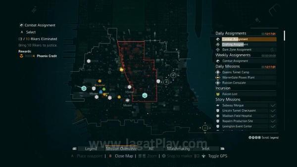 The division incursions (14)