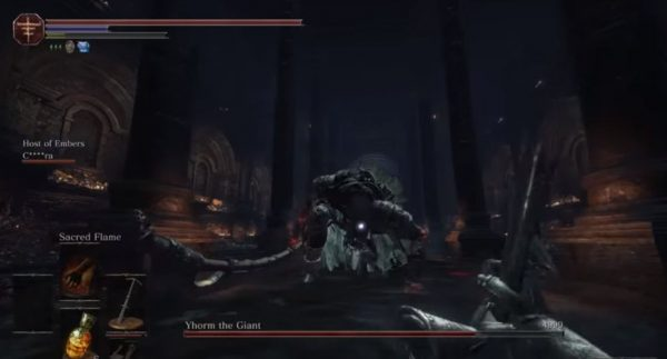 Modder berhasil menyuntikkan mode first person untuk Dark Souls 3.