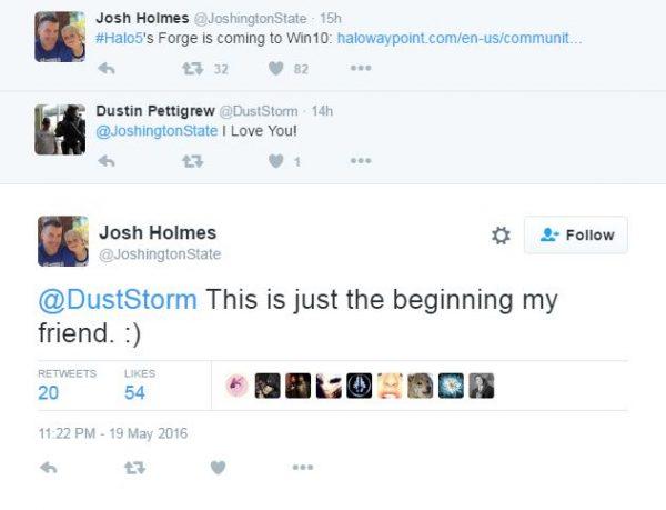 """Ini hanya """"permulaan"""". Kian memperkuat spekulasi bahwa Halo 5 memang akan menuju Windows 10 di masa depan."""