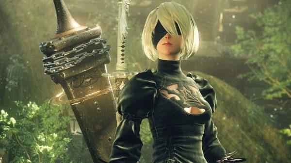 """Anda termasuk gamer yang tak terlalu bisa bermain game action? Square Enix menyuntikkan fitur """"Auto-Mode"""" di Nier: Automata."""