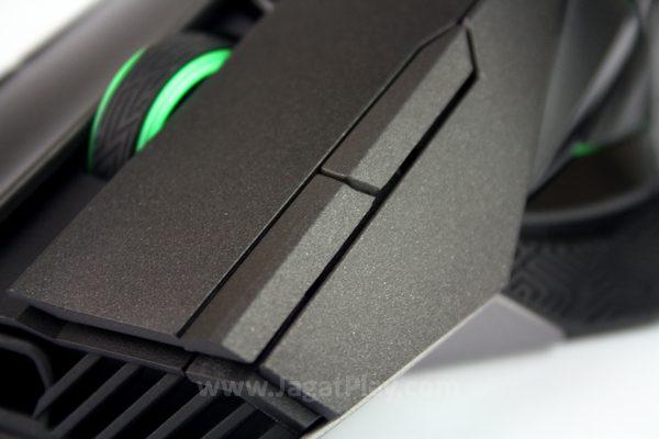 Dua tombol tambahan di sisi klik kiri mouse