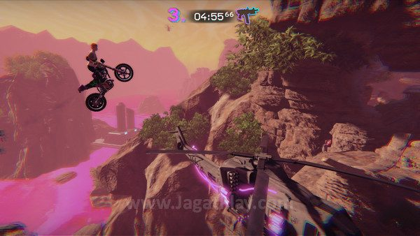 Dalam Trials of The Blood Dragon, hanya ada momen epik!