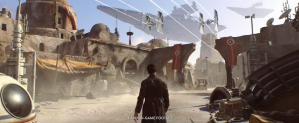 """Dengan ditutupnya Visceral, EA juga akan mengubah arah pengembangan proyek Star Wars dengan cita rasa """"Uncharted"""" yang sempat mereka kembangkan."""
