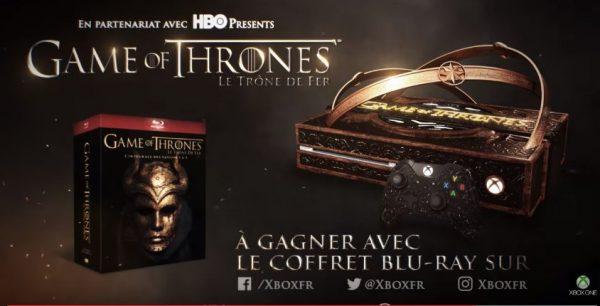 Tak dijual bebas dan akan hadir sebagai hadiah kompetisi, Xbox One Perancis memperlihatkan Xbox One bertema Game of Thrones.