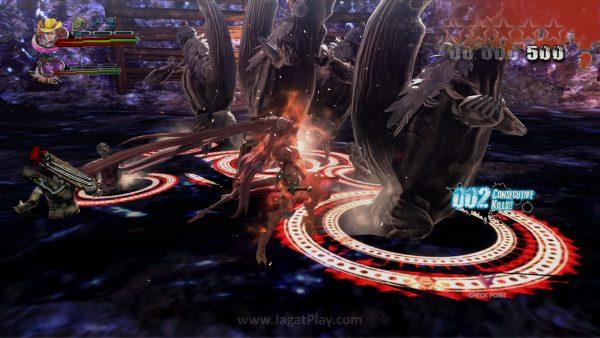 Dare Drive menggunakan Bloodlust yang dikumpulkan Kagura dan Saaya, mengubahnya menjadi wujud lebih kuat