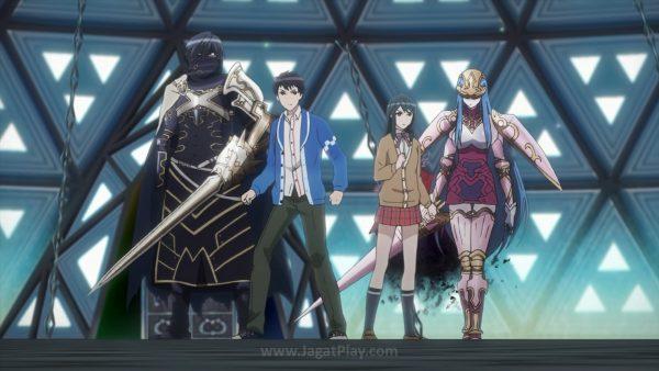 """Itsuki - sang teman baik pun bergegas berjuang menyelamatkan Tsubasa. Dengan kekuatan yang entah datang dari mana, mereka berhasil membuat dua """"monster"""" tersebut berakhir jadi pelindung mereka."""