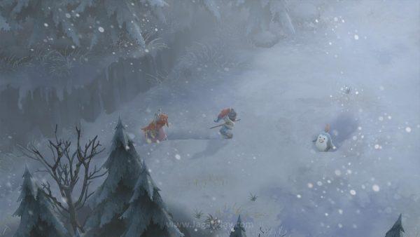Namun keluhan terbesar kami? Dunia yang terasa monoton dan malas. Selamat datang di neraka penuh salju!