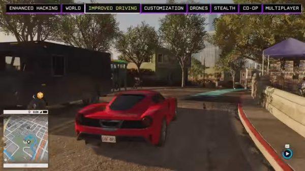 Aspek menyetir Watch Dogs 2 akan ditangani dev. Driver - Ubisoft Reflections.