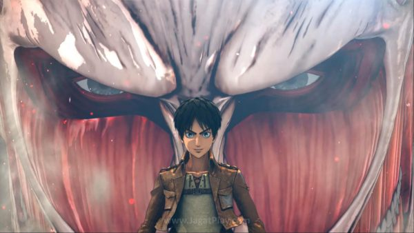 Attack on Titan: Wings of Freedom ini mengambil timeline Season 1 versi animenya.