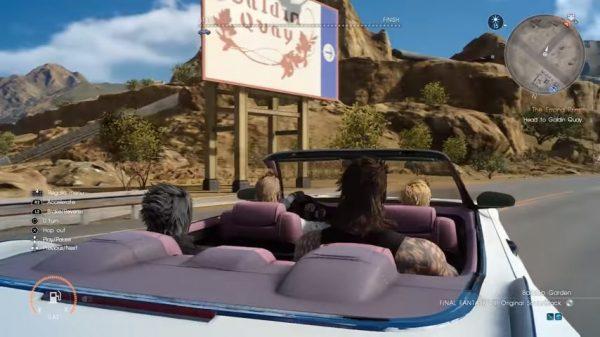Anda bisa memutar musik klasik FF ketika berkendara dengan Regalia.
