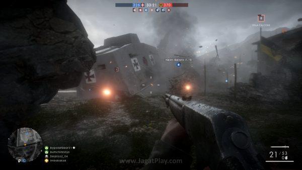 Perubahan seperti cuaca yang dinamis tak hanya untuk kosmetik dan dramtisasi, tetapi terkadang juga mempengaruhi gameplay.