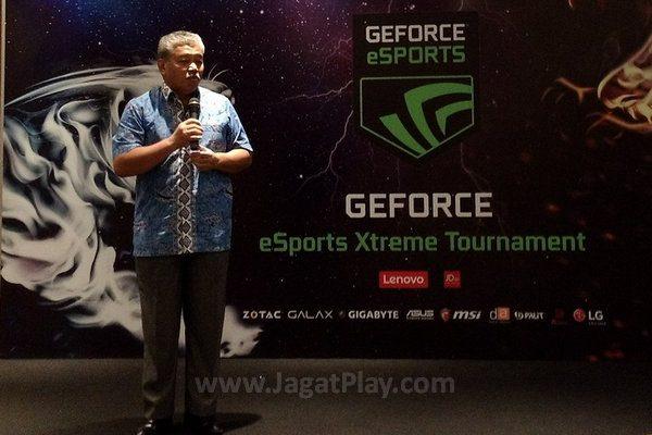 Bapak Hayono Isman dari FORMI menjelaskan mengapa eSports menarik bagi masyarakat Indonesia.