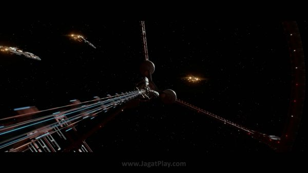 Di masa depan, dimana sumber daya mulai menipis dan bumi tak mampu lagi menopang, negara-negara bumi di bawah UNSA berusaha melakukan kolonisasi ke luar angkasa.