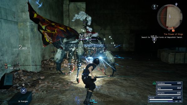 Melalui warna damage, Anda bisa melihat efektivitas serangan yang Anda lakukan.