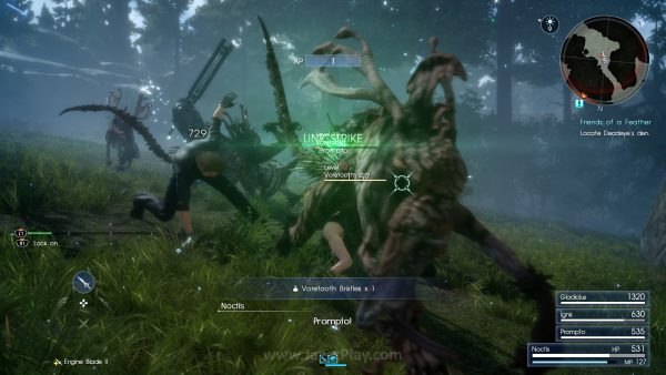 Sebagai sebuah game yang mengusung identitas sebagai sebuah game action RPG, Final Fantasy XV tampil solid.