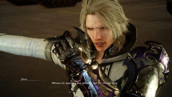 Ravus berakhir jadi karakter membingungkan tanpa motif jelas. Tak heran Square Enix ingin membenahinya.