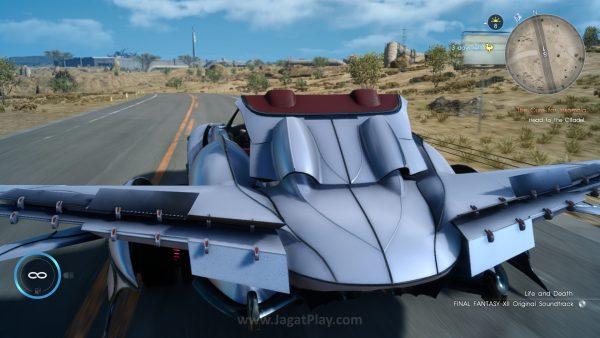 Anda bisa membuat mobil Anda terbang dengan Regalia F, tapi sayangnya, tak banyak dungeon yang bisa Anda eksplorasi dengannya.