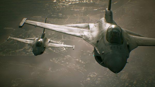 Project Aces memastikan bahwa timeline Ace Combat 7 terjadi 10 tahun dari Ace Combat 5.