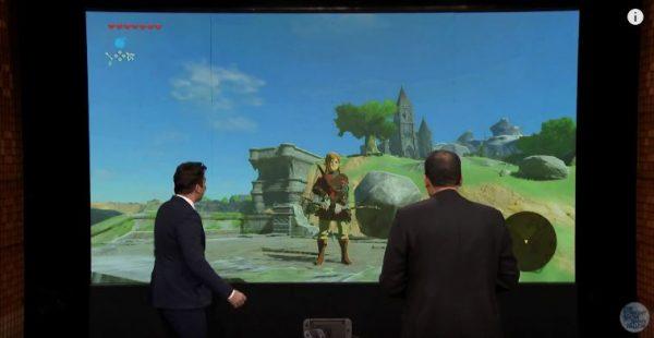 Lewat acara Jimmy Fallon, Nintendo memperlihatkan wujud fisik Nintendo Switch untuk pertama kalinya kepada publik.