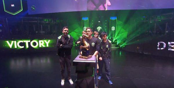 OG berhasil menjadi juara Boston Major DOTA 2. Ini menjadi kemenangan ketiga mereka untuk event The Major itu sendiri.